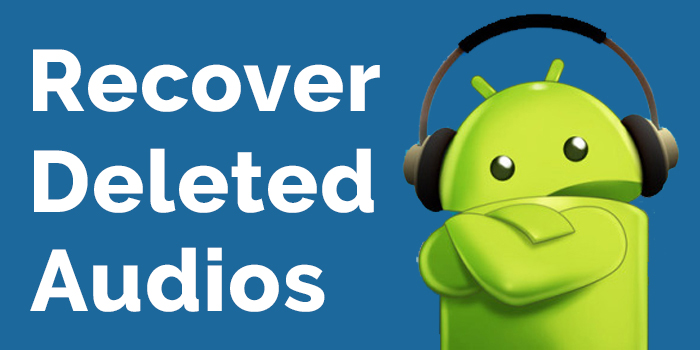 Recover deleted audios