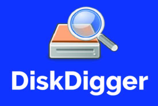 Diskdigger data recovery app