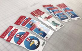 How can sticker printing help in promoting your business?