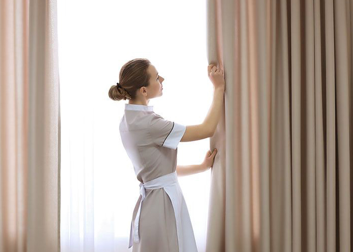curtains fixing services